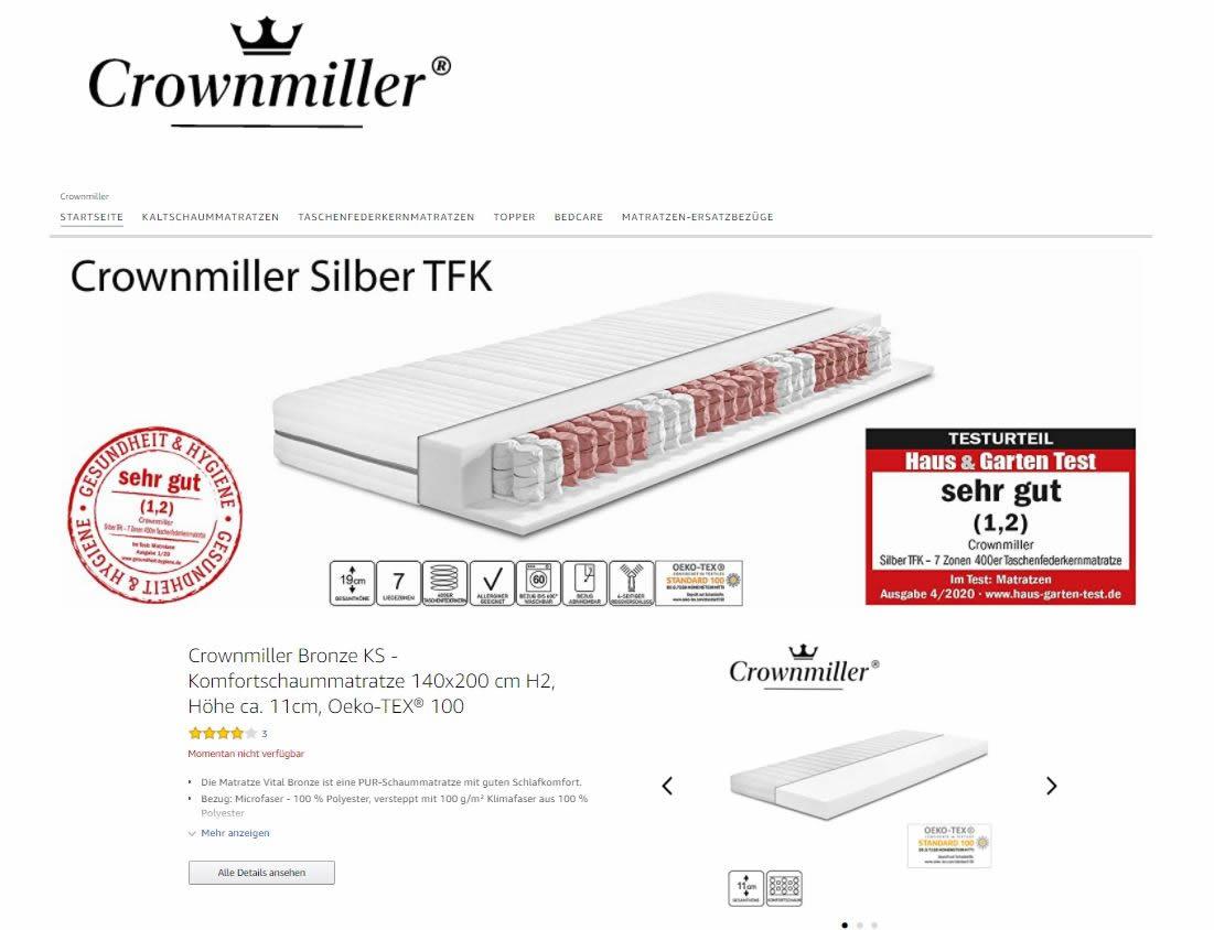 Amazon Brandstroe Crownmiller